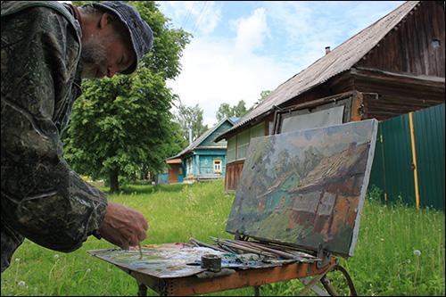 Russischer Maler | Kunst- und Kulturreise nach Russland