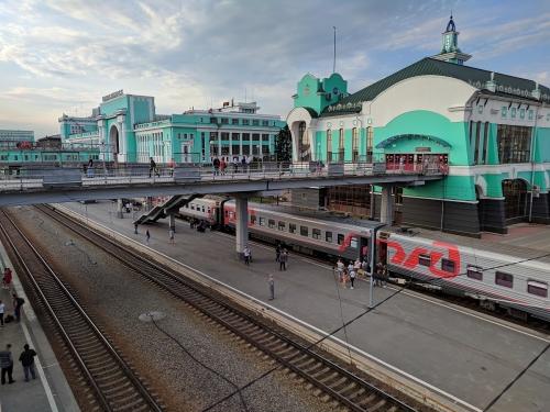 Bahnhof Nowosibirsk