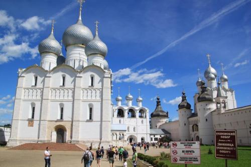 Der Kreml von Rostow Weliki, Goldener Ring