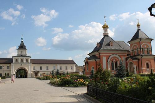 "Das Kloster ""Optina Pustyn"" in dem Dostojewski Inspiration zu seinem Roman ""Brüder Karamasow"" fand"