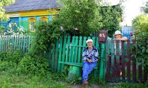 Im russischen Dorf