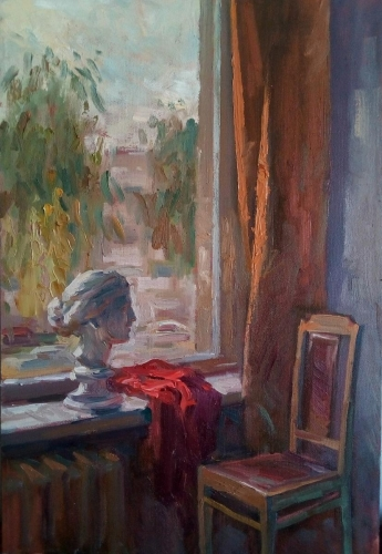 """In a workshop"", Alexander Osipenko"