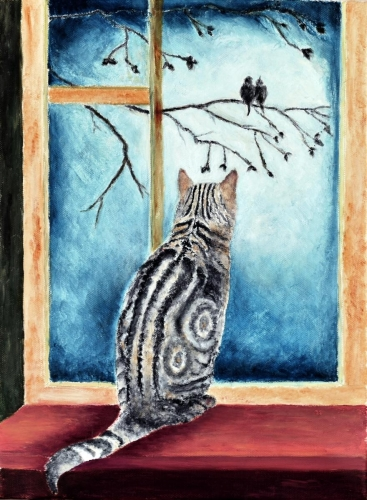 """Smokey bird watching"", Ceres Pioquinto"