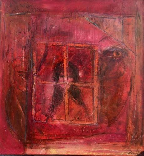 """""""Hinter dem Fenster - Isolation und Hoffnung"""", Katrin Eitel-Mannsdorff"""