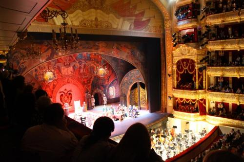 Bolschoi Theater, Moskau, Musikreise