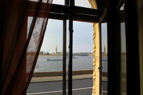 Newa und Peter & Paul Festung, St. Petersburg