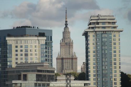 Alt und Neu, Universität MGU, Moskau