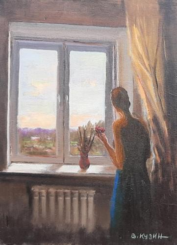 """Fenster-Selbstisolation-1"", Viktor Kuzin"