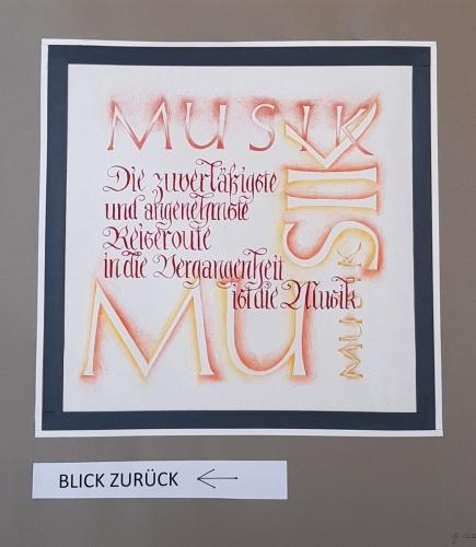 """""""Blick zurück"""", Margrit Gerber"""