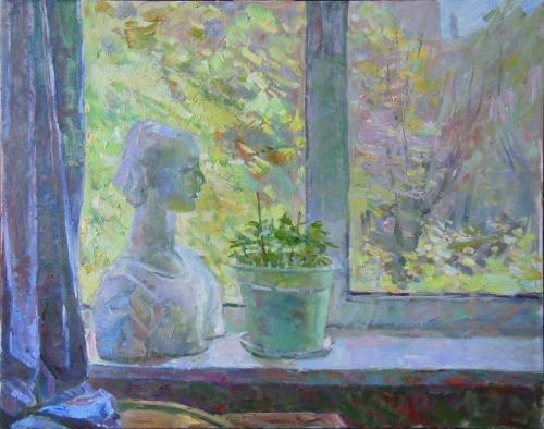 """""""Frühling, Fenster"""", Sergej Solotarjov"""