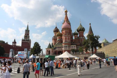 Moskau, Roter Platz, Basiliuskathedrale