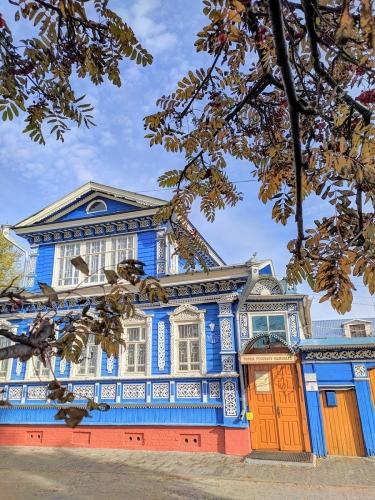 Typisches Russisches Dorfhaus