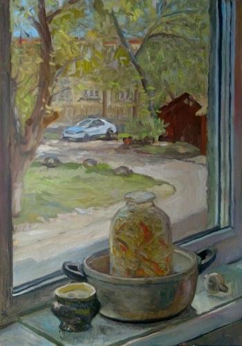 """Küchenfenster"", Viktor Jegorov"