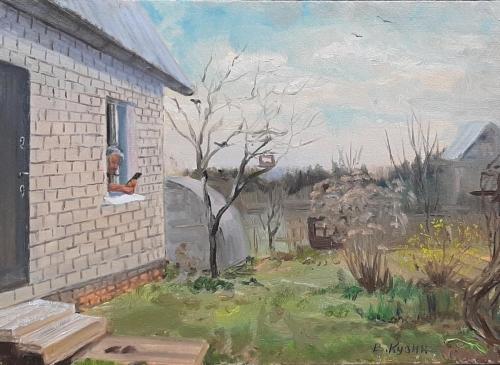 """""""Das Fenster der Selbstisolation 2"""", Viktor Kuzin"""