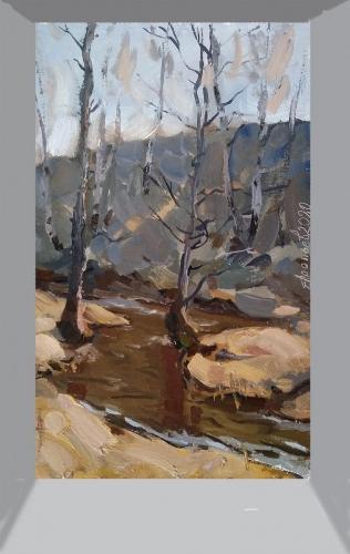 """""""Harmonie von Grau und Ocker"""", Vladimir Arepyev-"""